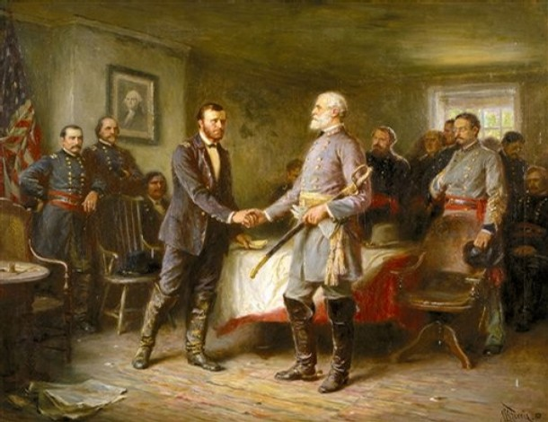 a comparison of grant and lee Here, the rough and tumble ulysses s grant from ohio faces off with the  southern patrician robert e lee the room itself seems too small for.
