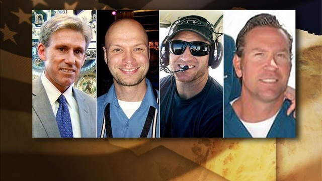 THE 4 AMERICANS KILLED IN BENGHAZI