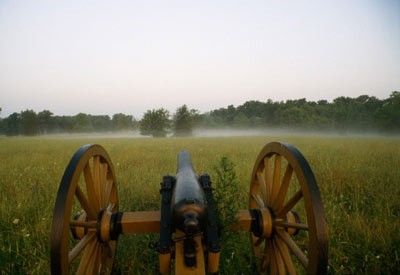 The field at Gettysburg