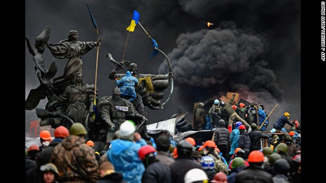 Kiev Independence Square - jeffmitchell/getty images
