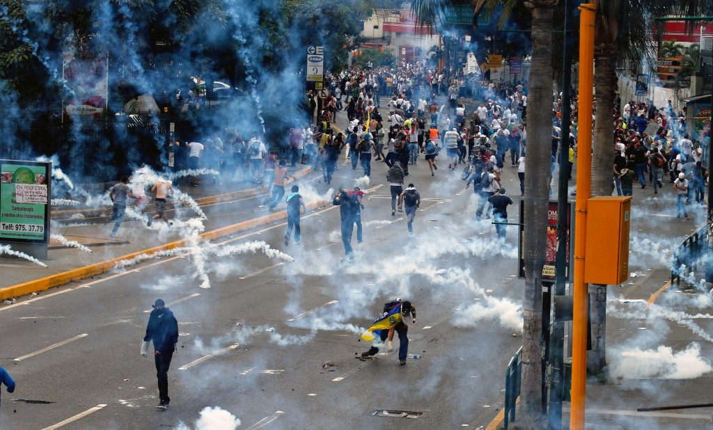 Venezuela Protests February 2014 - redalertpolitics.com