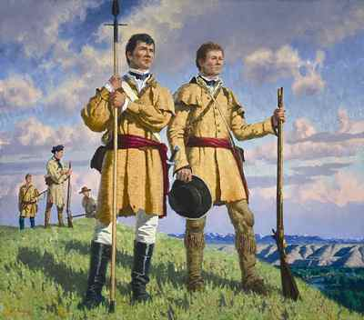 Lewis and Clark - charles fritz