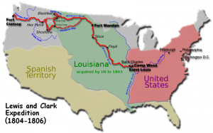 The Lewis and Clark Expedition - 1804 - 1806  wikipedia