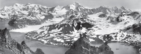 South Georgia Island mountain range conquered by Shackleton