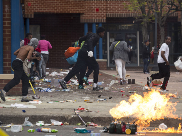 The Baltimore Riot - 2015 Photo by Drew Angerer/Getty Images