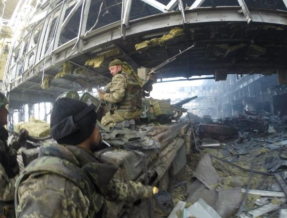 Fighting at the Donetsk International Airport
