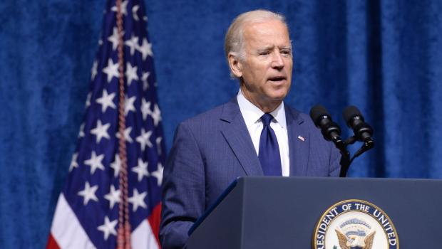 Vice President Joseph Biden  at Chattanooga memorial services for slain soldiers Jason Davis/Getty Images