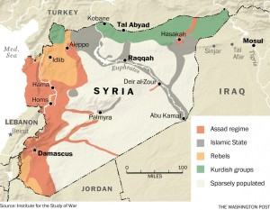 The current battle for Syria - washingtonpost