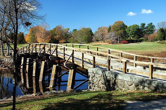 Old North Bridge Concord Massachusetts