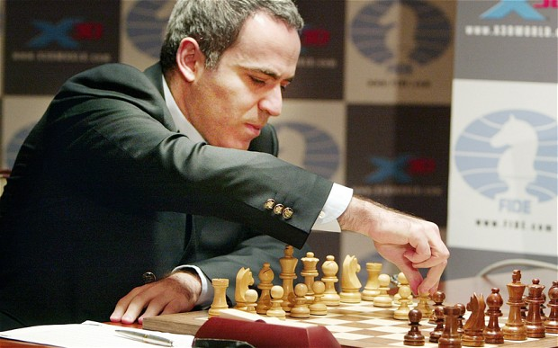 Image result for Garry Kasparov chess images