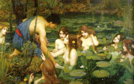 Hylas and the Nymphs John William Waterhouse